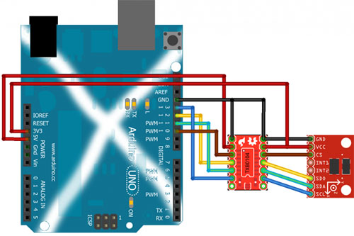 Connecting Arduino to TXB0104 Breakout Board