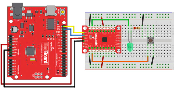 Connecting the IO Expander to Arduino