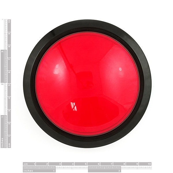 Huge Big Button Dimensions 100mm 10cm Proto-PIC