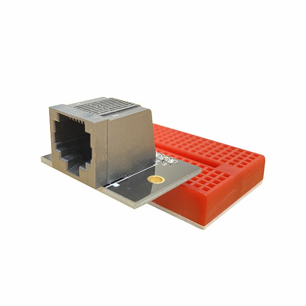 RJ45 Breakout Board PCB with Mounting Holes