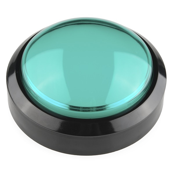 Huge Big Button Green 100mm 10cm Proto-PIC