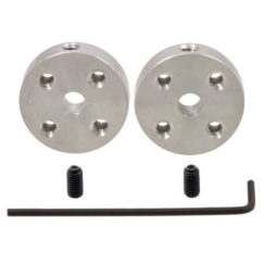 Pololu 4mm Shaft Mounting Hub with included hardware