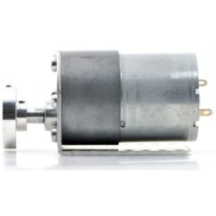 37D mm Metal Gearmotor mounted on L-bracket