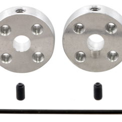 Pololu 1203 Aluminium Mounting Hub with included hardware