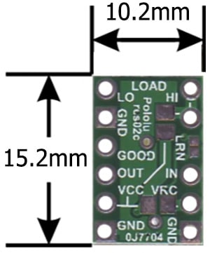 RC Switch Dimensions