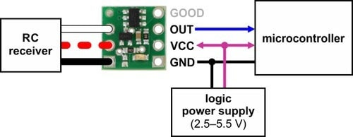 Connecting the RC Switch with a Digital Output