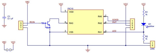 RC Switch Schematic