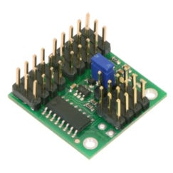 4-Channel RC Servo Multiplexer