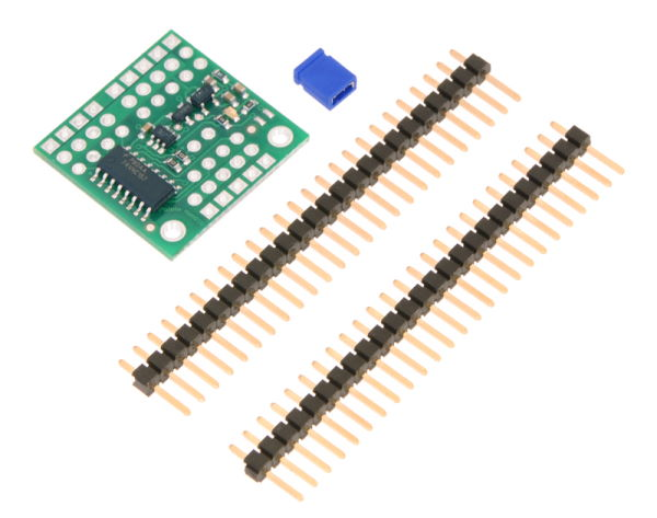 4-Channel RC Servo Multiplexer Included Hardware