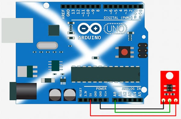 Arduino Line Follower Analog Connection