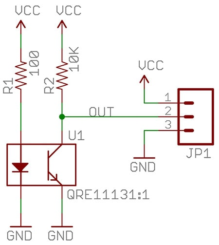 Line Follower Schematic