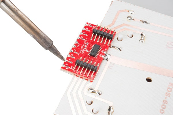 Large Digit Driver Soldering the connection