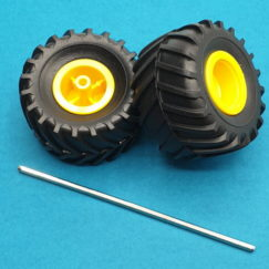 Tamiya 70096 Off-Road Tires