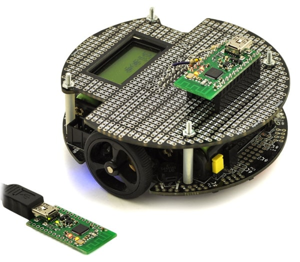 Wixel wireless control of 3pi robot