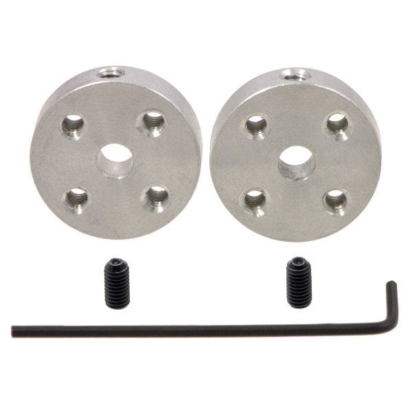 Pololu 1997 Universal Mounting Hub with set screws and Allen wrench