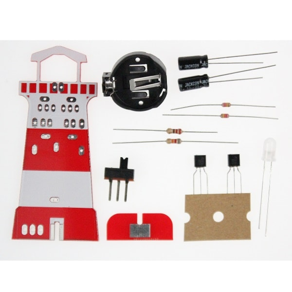 Lighthouse soldering kit, stem educational product