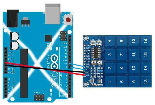 Using the Capacitive Touch Pad with Arduino