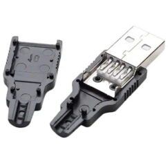USB DIY Connector Shell - Type A Male