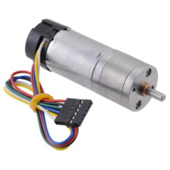 Metal Gearmotor 99:1 25Dx69L mm LP 12V with 48 CPR Encoder
