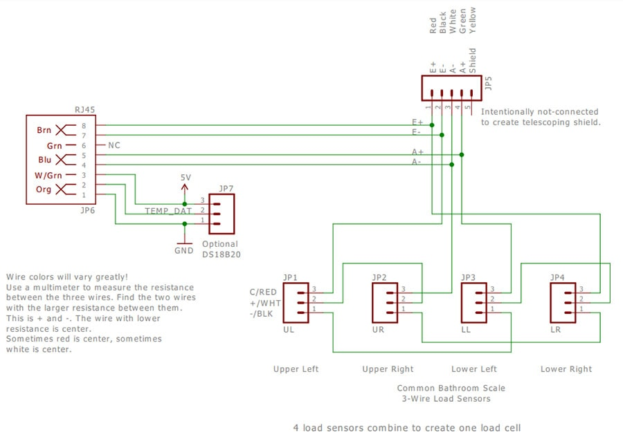 Load sensor combinator Schematic