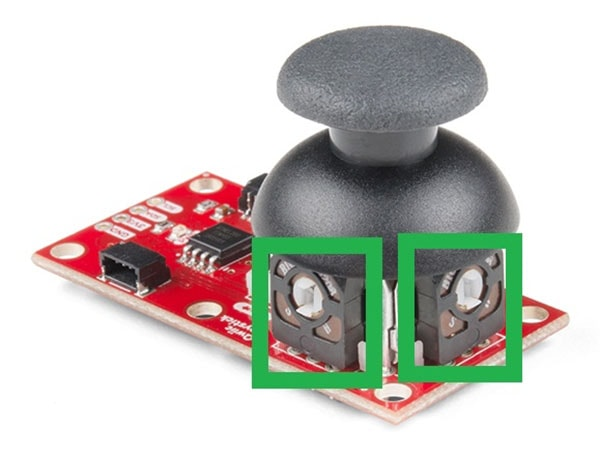 QWIIC Joystick POT Adjustment