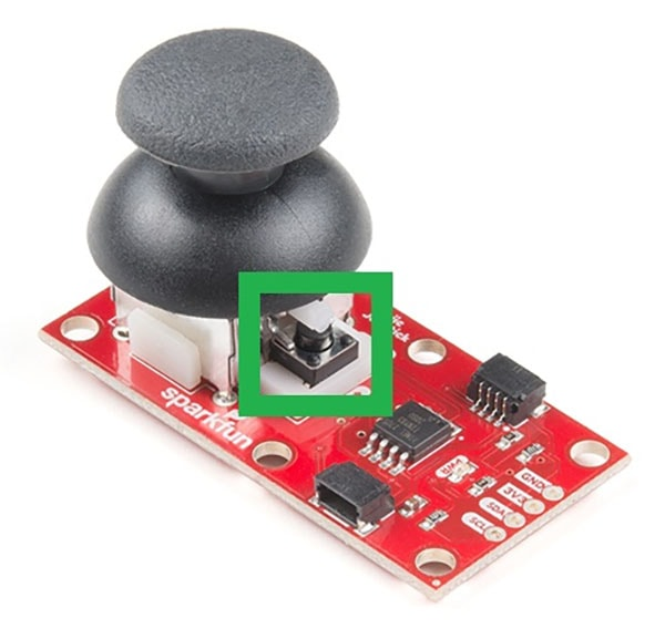 QWIIC Joystick Select Button