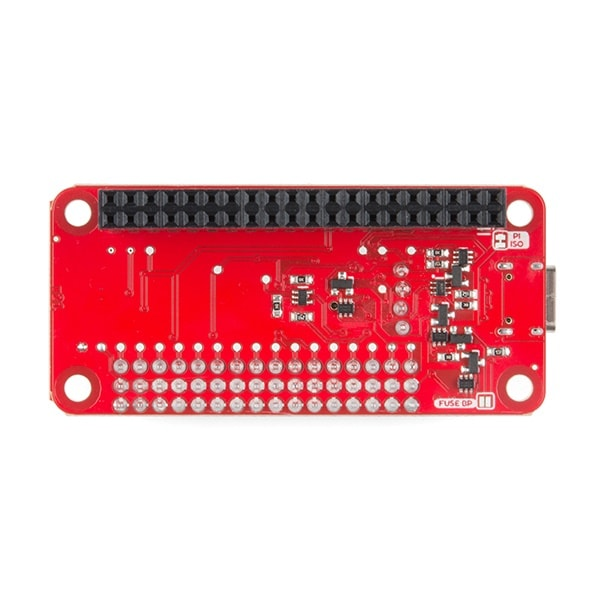 Sparkfun Servo pHAT for Raspberry Pi - Bottom view - Proto-PIC