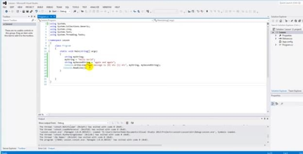 learning C# with Proto-PIC