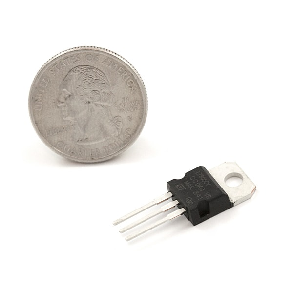 Components Voltage Regulator – 5V