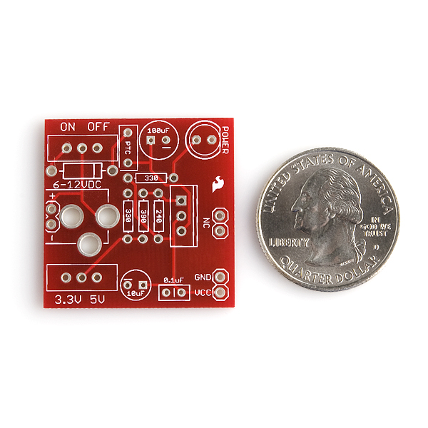 All Electronic Kits SparkFun PRT-00114 Breadboard Power Supply 5V/3.3V