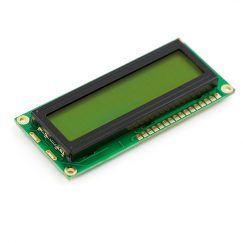 SparkFun LCD-00255 Basic 16x2 Character LCD - Black on Green 5V