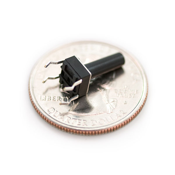 SparkFun COM-08605 Mini Push Button Switch - Tall