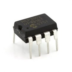 Analog to Digital Converter (ADC), MCP3002, 10- BIT, DIP-8