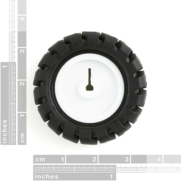 Wheel 42x19mm Pair