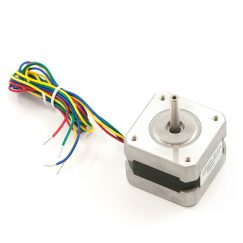 Stepper Motor with Cable, 200 Steps, Nema16 (ROB-09238)