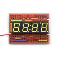 SparkFun COM-09480 4-Digit 7-Segment Display - Yellow
