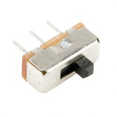 "Slide Switch, SPDT, PTH, 2.5mm (0.1"")"