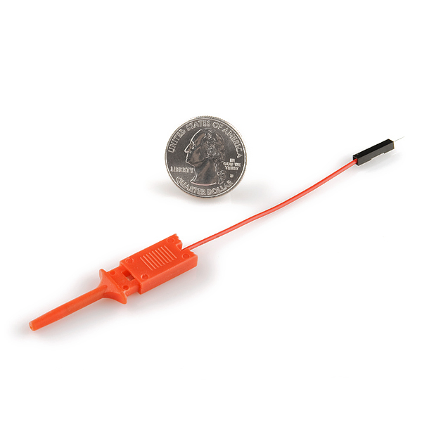 Debug and Analysis Tools SparkFun CAB-09741 IC Hook with Pigtail