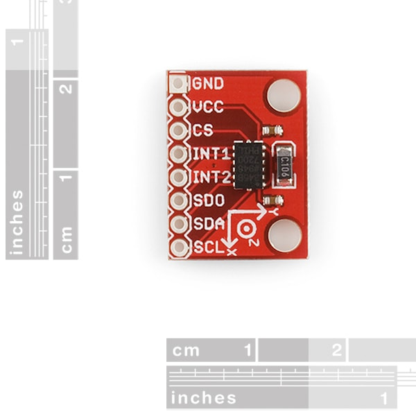 SparkFun SEN-09836 Triple Axis Accelerometer Breakout New - ADXL345