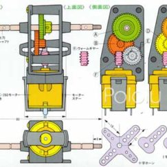 Motors and Actuators Tamiya 72004 Worm Gearbox Kit