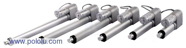 "Linear Actuator with Feedback and 12"" Stroke (LACT12P)"