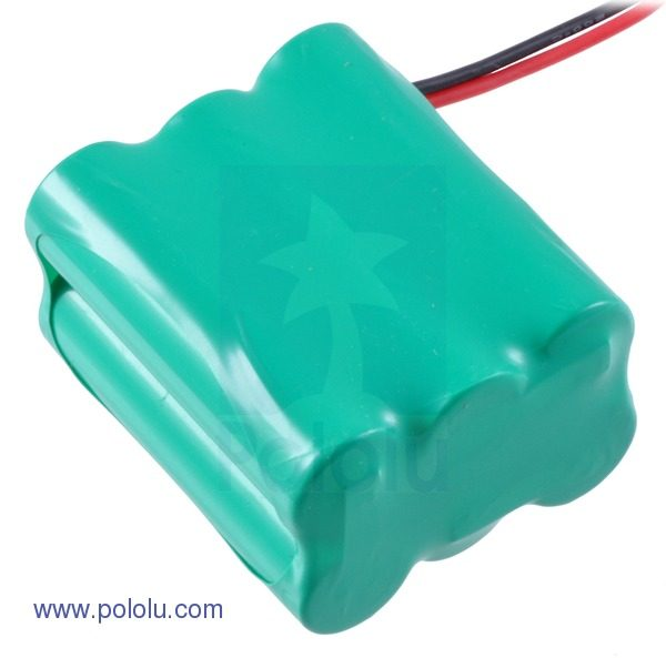Rechargeable NiMH Battery Pack Pololu