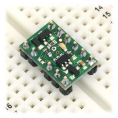 RC Switch with Small Low-Side MOSFET on breadboard