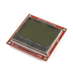 Lighting and Displays SparkFun LCD-10168 Graphic LCD 84×48 – Nokia 5110