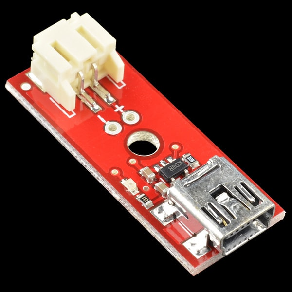 Batteries and Accessories SparkFun PRT-10401 LiPo Charger Basic – Mini-USB