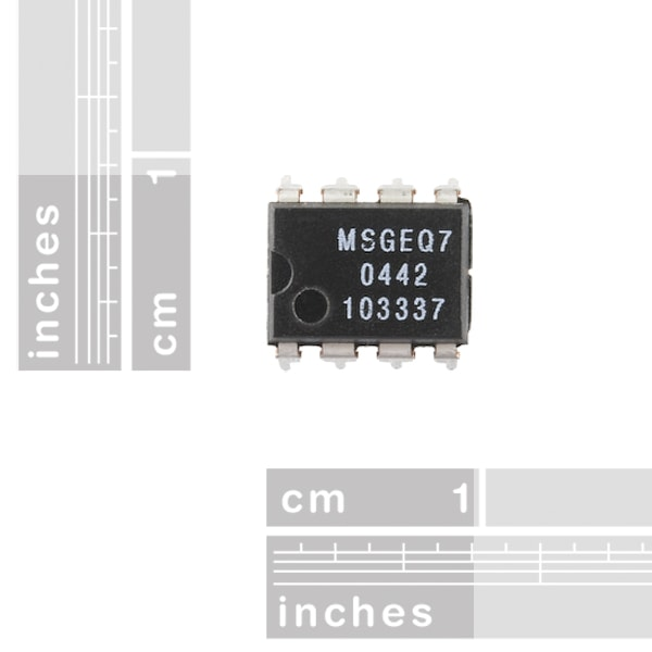 Proto-PIC Graphic Equalizer Display Filter - MSGEQ7