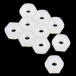 Nylon Nut - 4-40 (pack of 10)