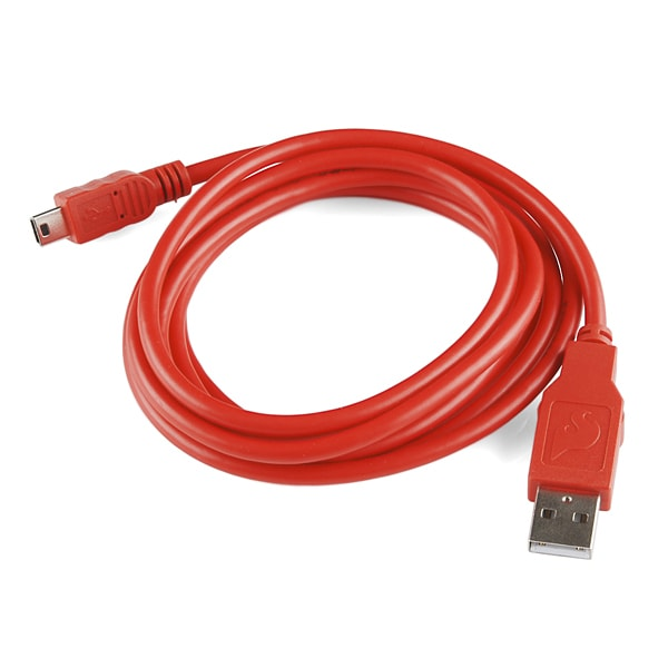 Cables and Leads SparkFun CAB-11301 USB Mini-B Cable – 6 Foot