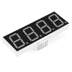 "7-Segment Display - 25mm (1"") Tall, Common Cathode (Red)"