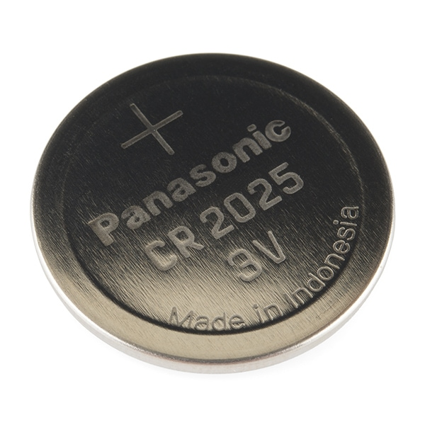 SparkFun PRT-11928 Coin Cell Battery - 20mm (CR2025)